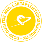 Logo DGSP-Qualität Med. Laktat-Leisungsdiagnostik